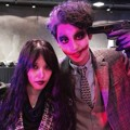 BoA dan Chanyeol EXO di Pesta Halloween SM Entertainment