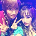 Heechul Super Junior dan Tiffany Girls' Generation Hadir di Pesta Halloween SM Entertainment