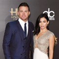 Channing Tatum dan Jenna Dewan di Red Carpet Hollywood Film Awards 2014