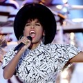 Penampilan Janelle Monae di Hollywood Film Awards 2014