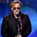 Johnny Depp di Hollywood Film Awards 2014