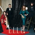 Artis YG Entertainment di Majalah Elle
