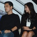 Kevin Julio dan Jessica Mila Saat Press Conference SCTV Awards