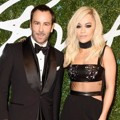 Tom Ford dan Rita Ora Hadir di British Fashion Awards 2014