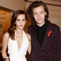 Emma Watson dan Harry Styles One Direction di British Fashion Awards 2014