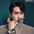 Song Seung Heon di Majalah L'Officiel Hommes December 2014
