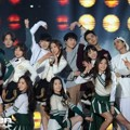 Kolaborasi Winner, GOT7, Red Velvet dan Lovelyz di SBS Gayo Daejun 2014