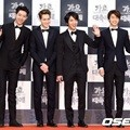 CN Blue di Red Carpet KBS Gayo Daejun 2014