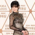 Jang Nara di Red Carpet MBC Drama Awards 2014