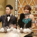 Shin Dong Yup dan Sooyoung Girls' Generation di MBC Drama Awards 2014