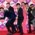 Pengisi Acara 'Running Man' di Red Carpet SBS Entertainment Awards 2014