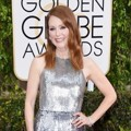 Julianne Moore di Red Carpet Golden Globe Awards 2015