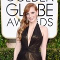 Jessica Chastain di Red Carpet Golden Globe Awards 2015