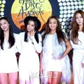Sistar di Red Carpet Golden Disk Awards 2015