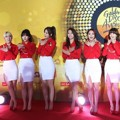 AOA di Red Carpet Golden Disk Awards 2015