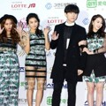 Sistar dan JungGiGo di Red Carpet Seoul Music Awards 2015