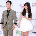 San E dan Raina di Red Carpet Seoul Music Awards 2015