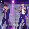 Super Junior Saat Tampil Nyanyikan Lagu 'This Is Love'
