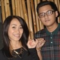 Felly Chibi dan Mario Kacang Take Vocal di Studio 8