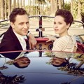 Tom Hiddleston dan Felicity Jones di Majalah Vanity Fair Edisi Maret 2015