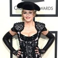 Madonna di Red Carpet Grammy Awards 2015