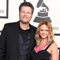 Blake Shelton dan Miranda Lambert di Red Carpet Grammy Awards 2015