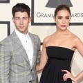 Nick Jonas dan Olivia Culpo di Red Carpet Grammy Awards 2015