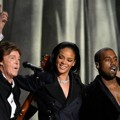 Paul McCartney, Rihanna dan Kanye West Tampil Nyanyikan Lagu 'FourFiveSeconds'