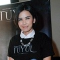 Dinda Kanya Dewi di Press Conference Film 'Tuyul'
