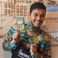 Indra Bekti di Aksi Amal 'Chocolate for Charity'