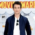 Miles Teller di Red Carpet MTV Movie Awards 2015