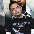 Bebi Romeo di Press Conference Dubbing 'Transformers: Age of Extinction'