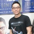 Ben Kasyafani di Press Conference Dubbing 'Transformers: Age of Extinction'