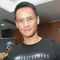 Choky Sitohang di Press Conference Dubbing 'Transformers: Age of Extinction'