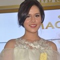 Raisa di Acara Launching Varian Baru Magnum White Almond
