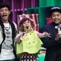 Ammar Zoni, Chika Jessica dan Bow Vernon di Indonesia Kids' Choice Awards 2015