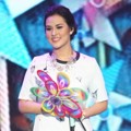 Raisa di Indonesia Kids' Choice Awards 2015
