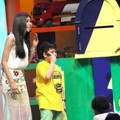 Syahnaz, Baim dan Narji Cagur di Indonesia Kids' Choice Awards 2015