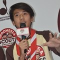 Iqbaal Ramadhan CJR di Indonesia Scouts Challenge 2015-2016
