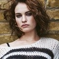 Lily James di Majalah The Edit Edisi 17 September 2015