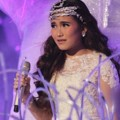 Ayu Ting Ting Saat Tampil di HUT Global TV ke-1