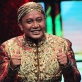 Totos Rasiti Saat Tampil di HUT Global TV ke-13