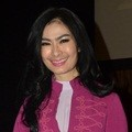 Iis Dahlia di Konferensi Pers Indonesia Dangdut Awards 2015