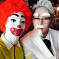 Key dan Onew SHINee di Pesta Halloween SMTown