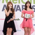 Seo Yuri dan Youngji Kara Jadi MC di Red Carpet Melon Music Awards 2015