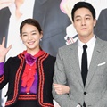 Shin Min A dan So Ji Sub di Jumpa Pers Serial 'Oh My Venus'