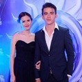 Michelle Joan dan Christ Laurent Hadir di SCTV Awards 2015