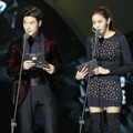 Kim Kang Woo dan Uee After School di MAMA 2015