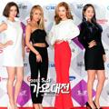 Wonder Girls di Red Carpet SBS Gayo Daejun 2015