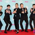 Member Acara 'Infinite Challenge' di Red Carpet MBC Entertainment Awards 2015